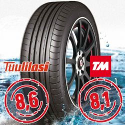 Sportnex AS-2+ TM- ja Tuulilasi-testimenestys 225/45-17 V