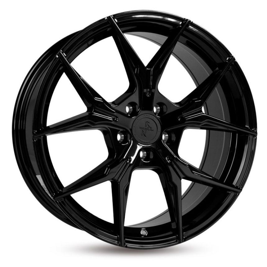 KT19 Black Painted 8.5x19