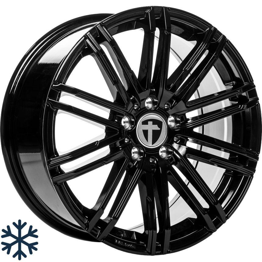 TN18 Black painted 8.0x18