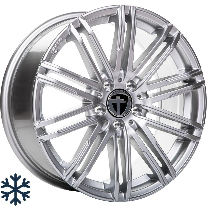 TN18 bright silver 8.0x18